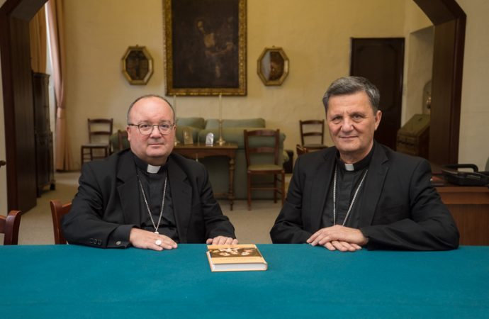 Archbishop Charles J. Scicluna and Bishop Mario Grech of Malta