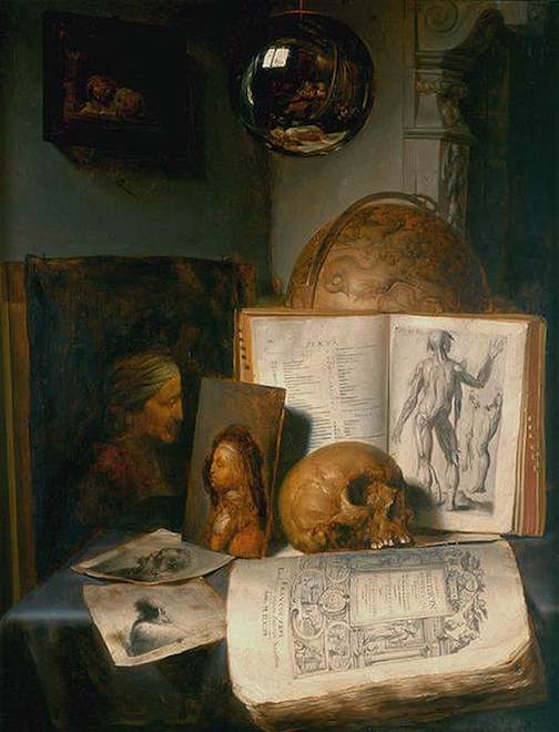 Vanitas by Simon Luttichuys c. 1640 [private collection]